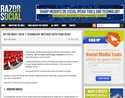 ck razor social1 Top 10 Social Media Blogs: The 2013 Winners!   Cindy King
