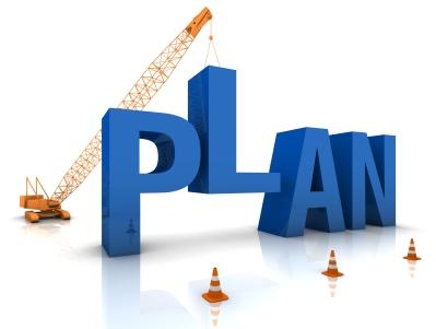 einen Plan entwickeln