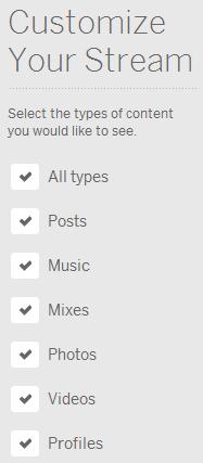 Customize Your Myspace Stream