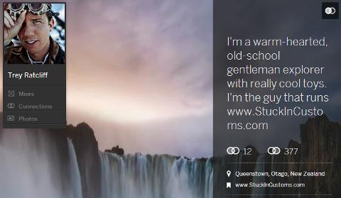 New Myspace Profile Example
