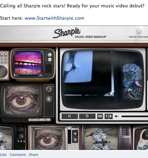 sharpie music video mashup