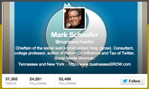 mark schaefer twitter