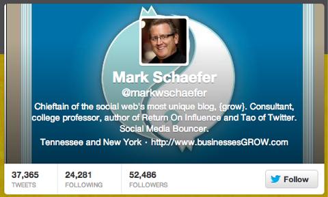 mark schaefer twitter