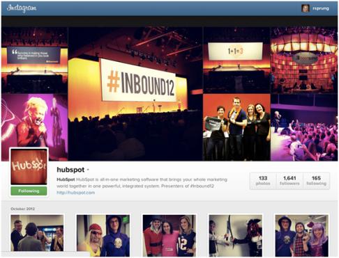 humbspot instagram profile
