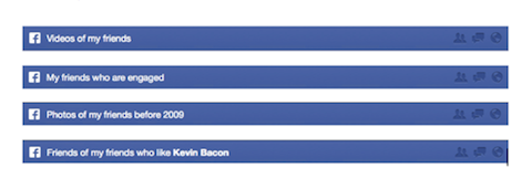 facebook favorite searches