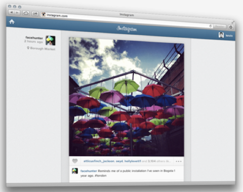 instagram full web feed