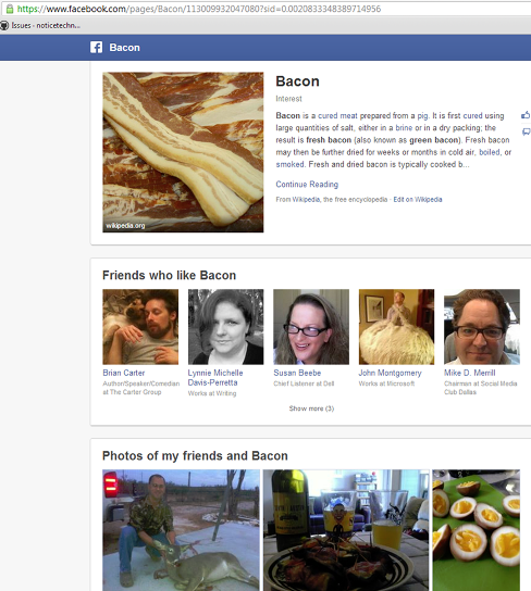 bacon interest page