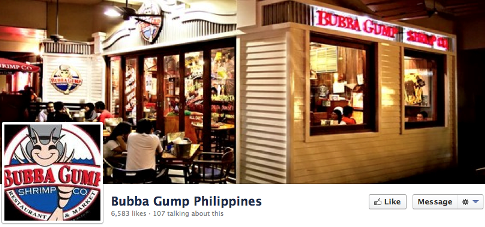 bubba gump locations