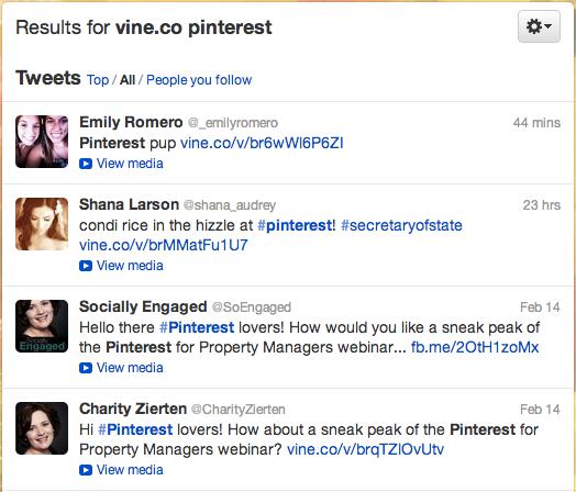 Vine Examples