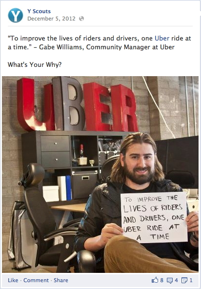 why statement uber