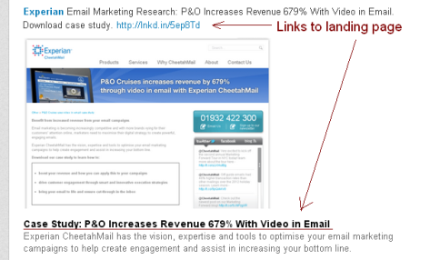 Email marketing case studies 2013