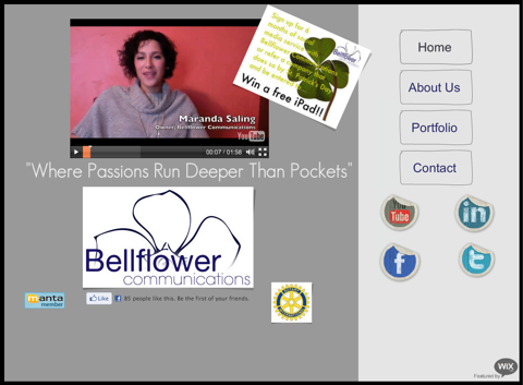 bellflower communications home page