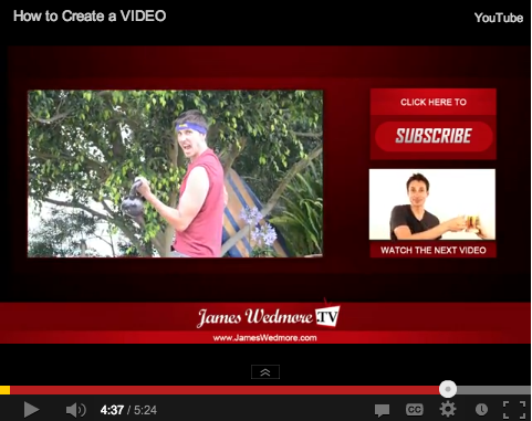 subscribe james wedmore