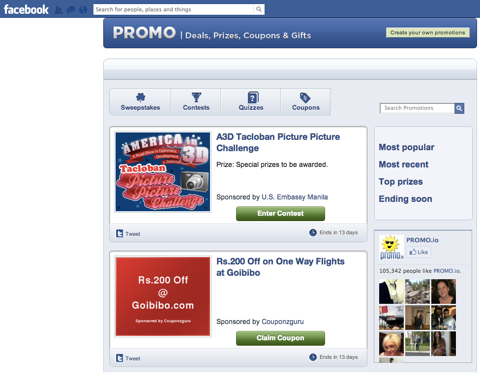 how to make your facebook contests stand out social. Black Bedroom Furniture Sets. Home Design Ideas