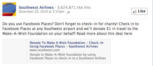 southwest airline contest