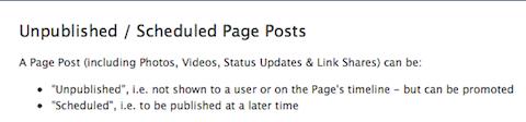 unpublished posts