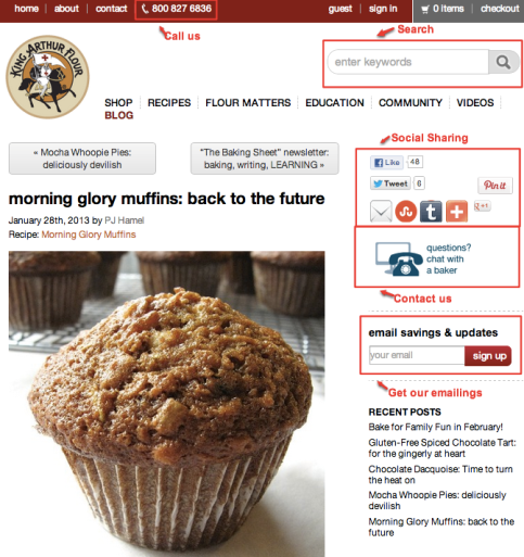 king arthur flour muffin