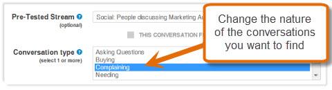 test different conversation types