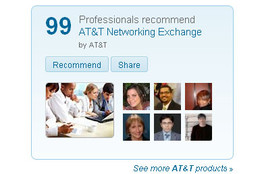 at&t recomendation ads
