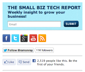 small biz like button