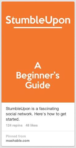 stumbleupon pin