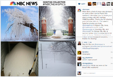 instagram nbc news feature