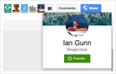 Integration von Google + Laufwerk