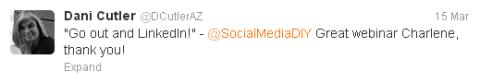 Twitter mention tweet