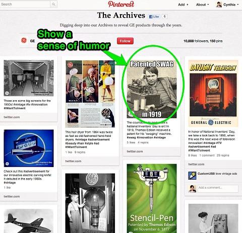 Pinterest Archives Board