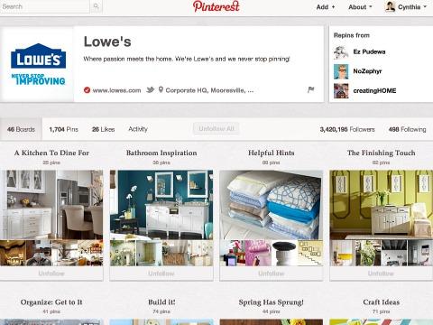 Lowe's on Pinterest