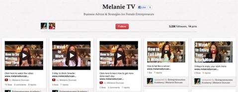 melanie tv