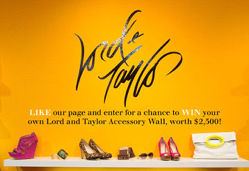 lord and taylor contest
