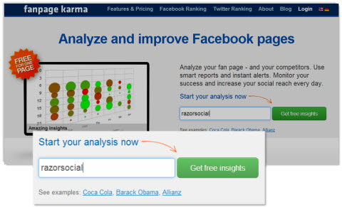 How to Compare Your Facebook Page With the Competition : Social
