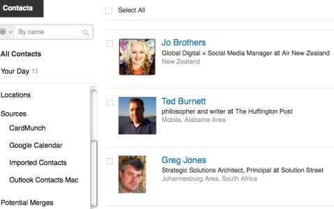 How to Use the LinkedIn Contacts Feature : Social Media Examiner