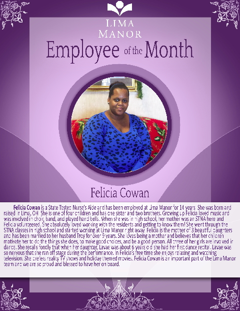 hcf employee of the month