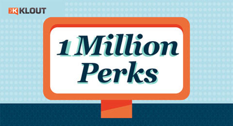 klout million perks