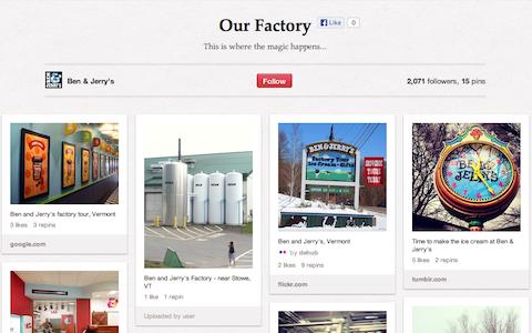 Ben und Jerry Factory