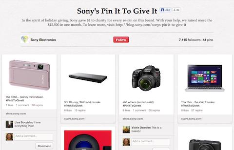 Sony Pin es zu gewinnen
