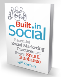 built in social book cover