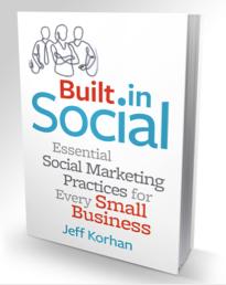 built in social book cover