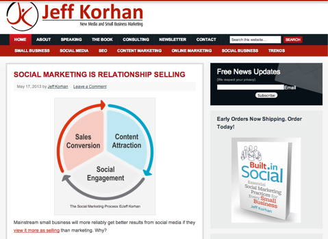 jeff korhan blog