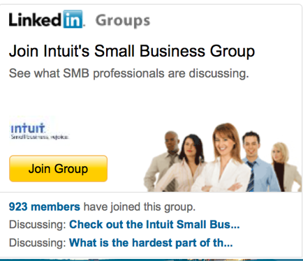 intuit corporate linkedin group