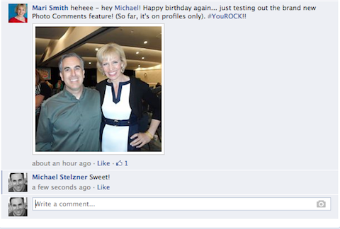 Facebook Kommentar Foto