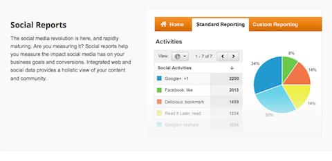 google social reports