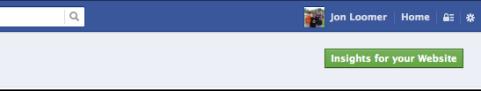 Facebook Insights Website