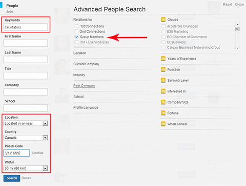 multiple search fields