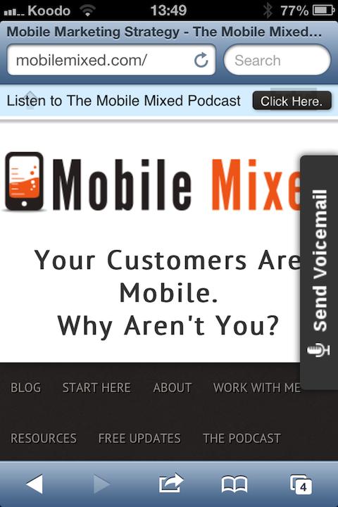 mobile mixed iphone screenshot