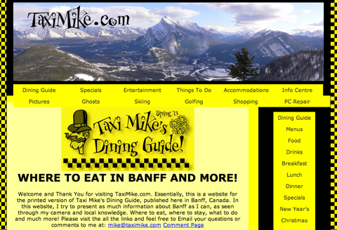 taxi mike website