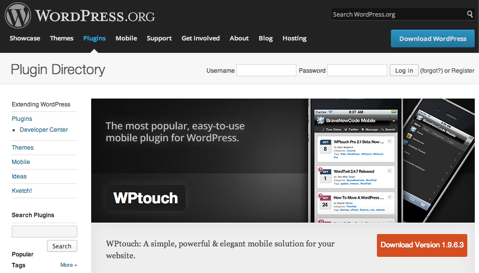 wptouch plug in