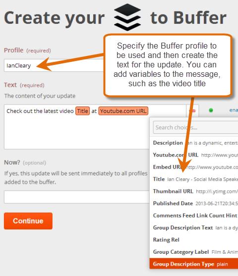 configure buffer event